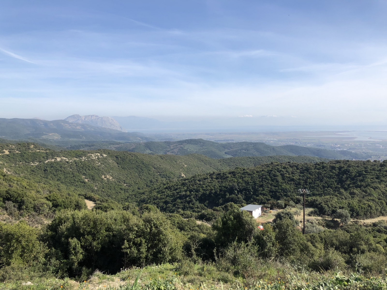 Blick nach Patras