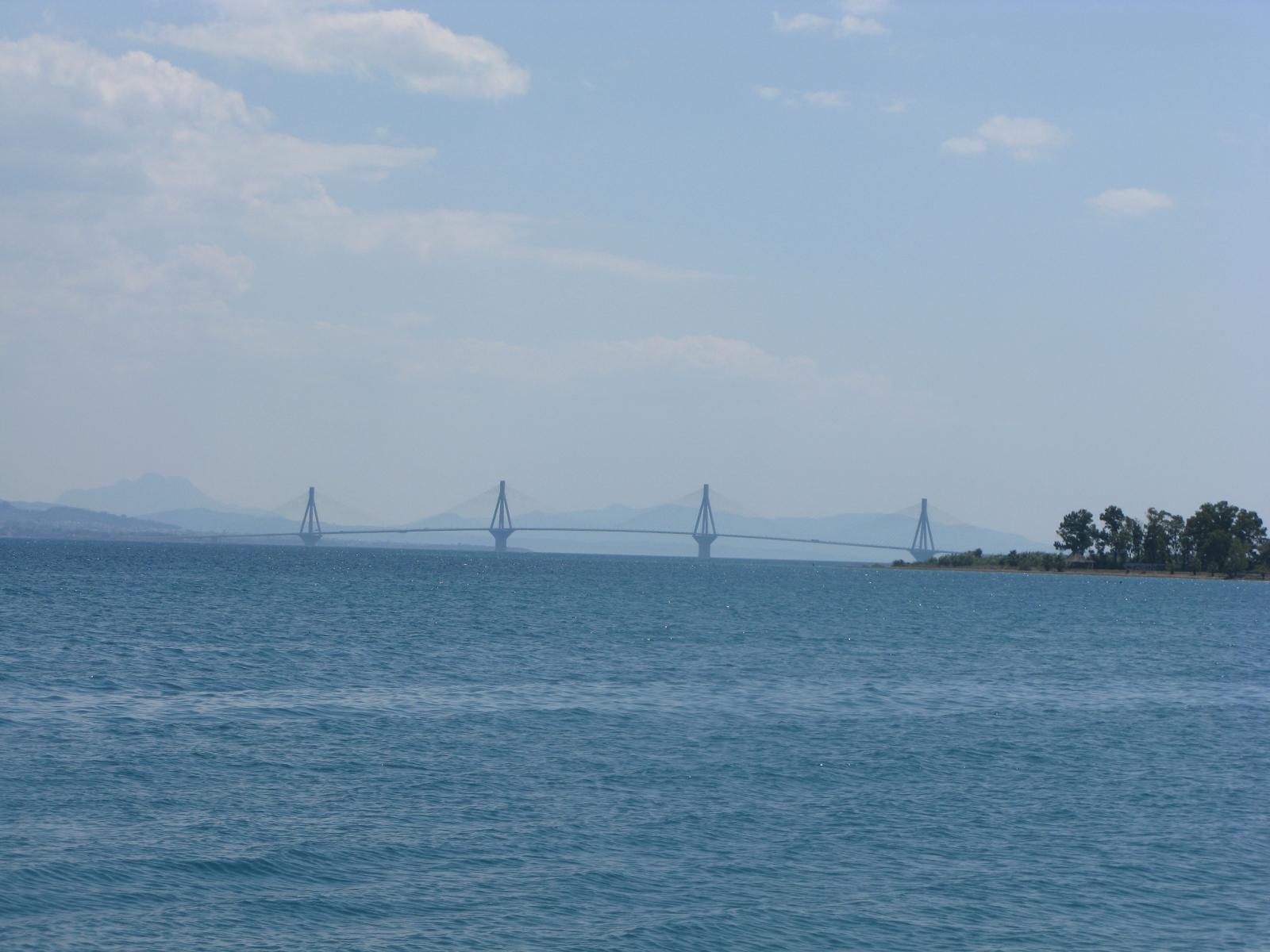 Rion-Brücke bei Patras