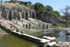 Oiniades Schiffswerft aus der Antike