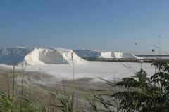 Salzgewinnung in der Lagune von Messolonghi