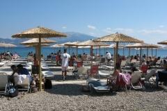 Am Strand von Nafpaktos