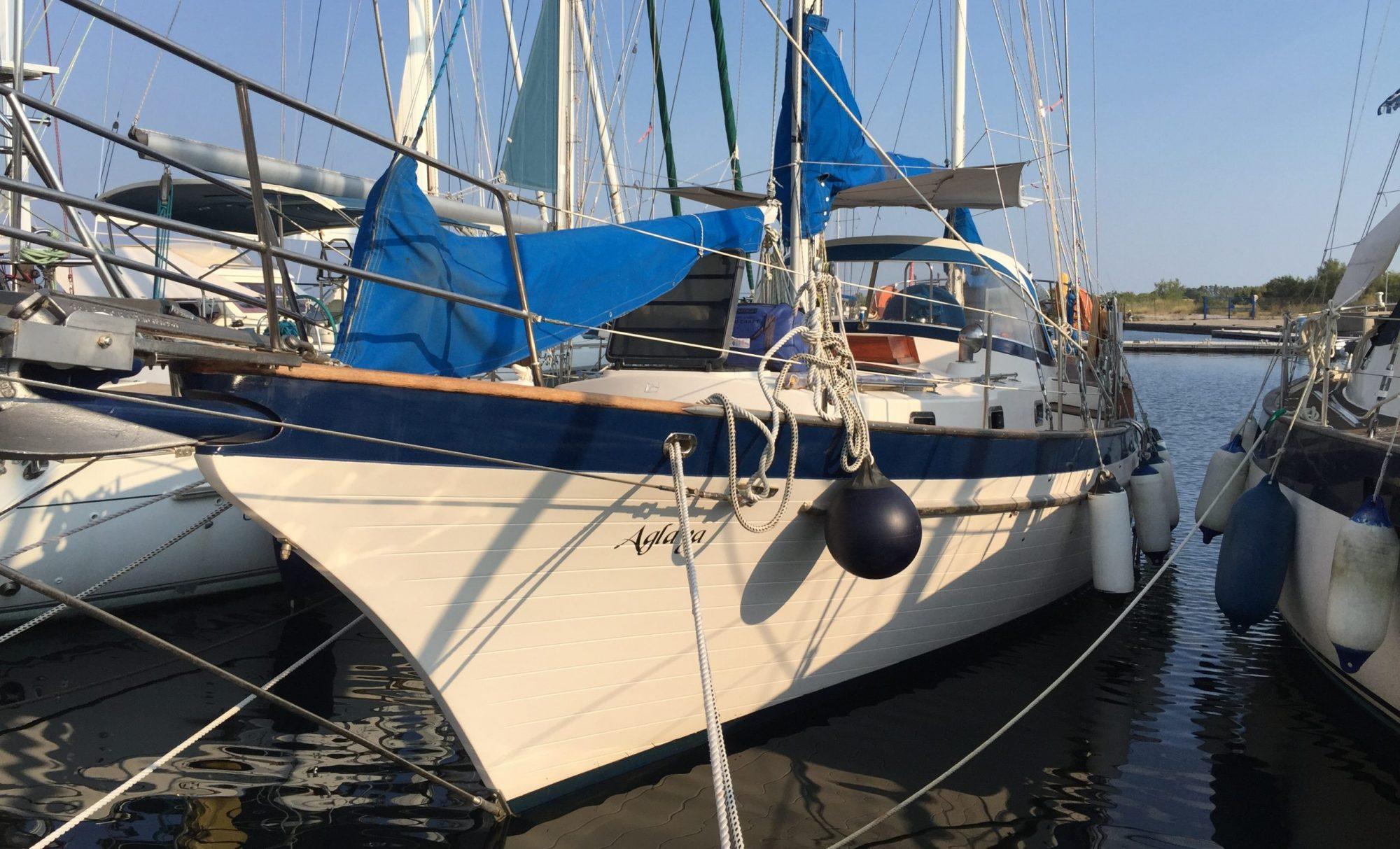 Sailing Aglaya